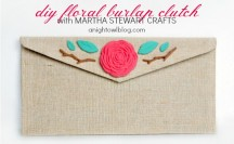 Floral Clutch Feature