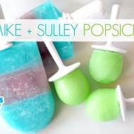 Mike and Sulley Popsicles with Nestle Juicy Juice #MUJuice