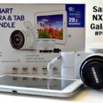 Samsung NX1100 Smart Camera and Galaxy Tab #PixBundle
