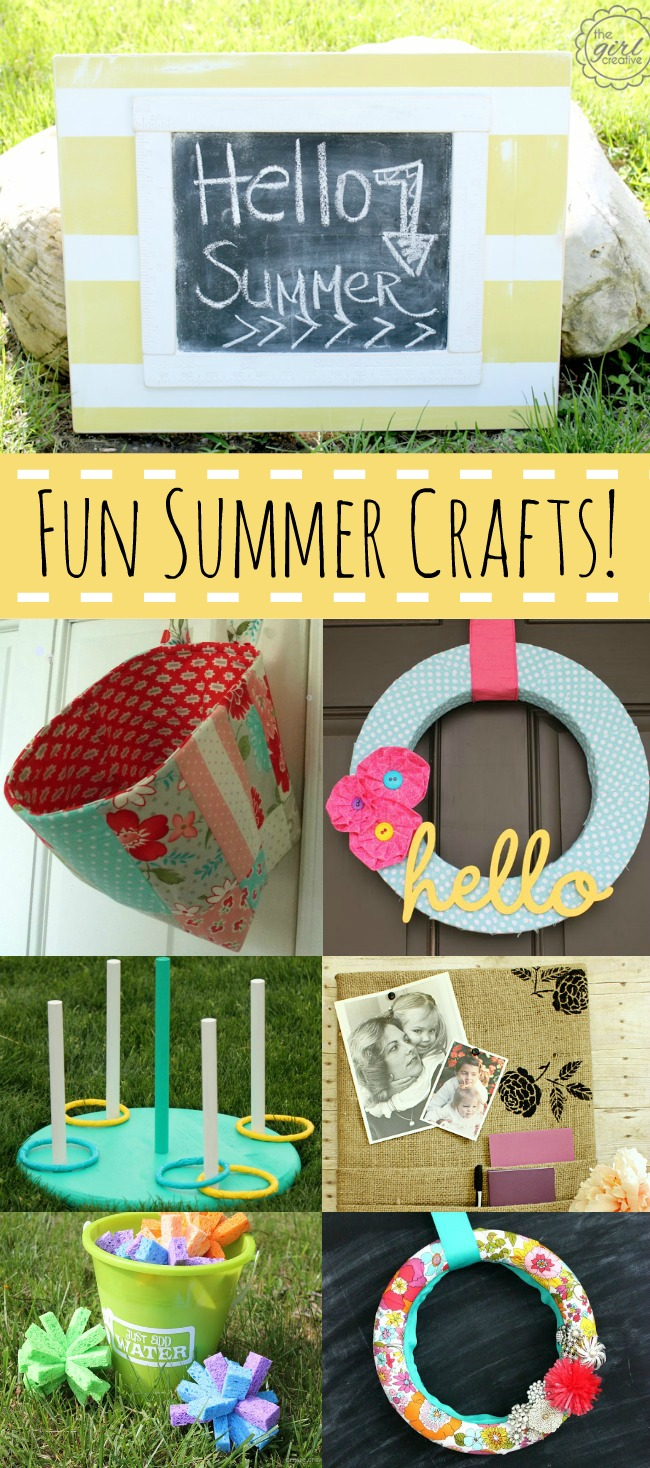 Fun Summer Crafts >> #CreateandInspire Features