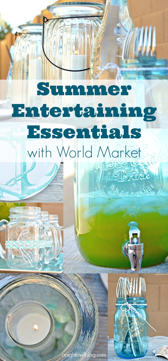 Summer Entertaining Essentials with World Market #SummerFun