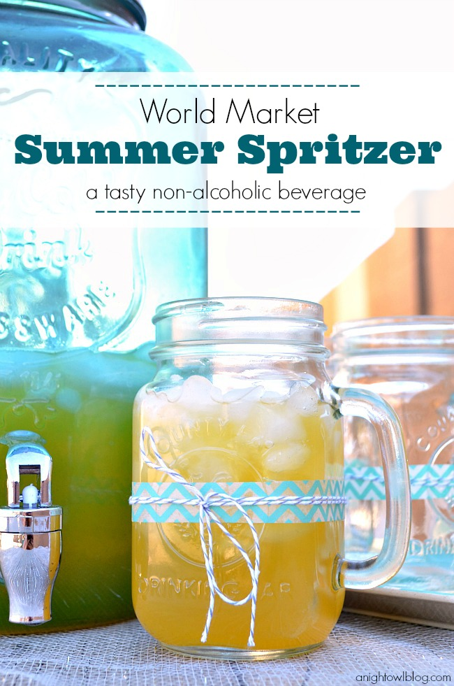 World Market Summer Spritzer #SummerFun