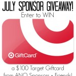 July ANO Sponsor – $100 Target Gift Card Giveaway