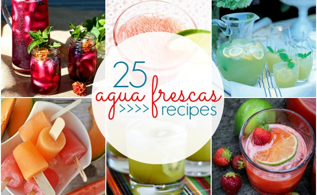 25 Agua Frescas Recipes Blackberry Blueberry Basil And