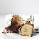 Banana Cheesecake Chimichanga Recipe
