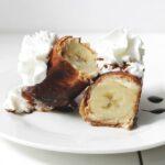 Banana Cheesecake Chimichangas
