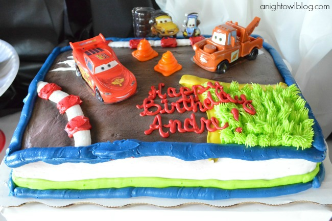 A Disney Cars Celebration Dreamparty A Night Owl Blog