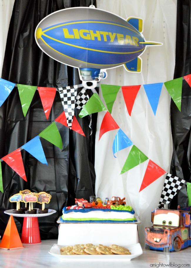 091950e7c Partty - Fiestas temáticas y decoración para fiestas: Fiesta Cars Disney -  Ideas y descargas gratis