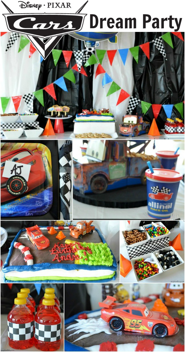 This Disney Cars Birthday Party looks so easy and fun!
