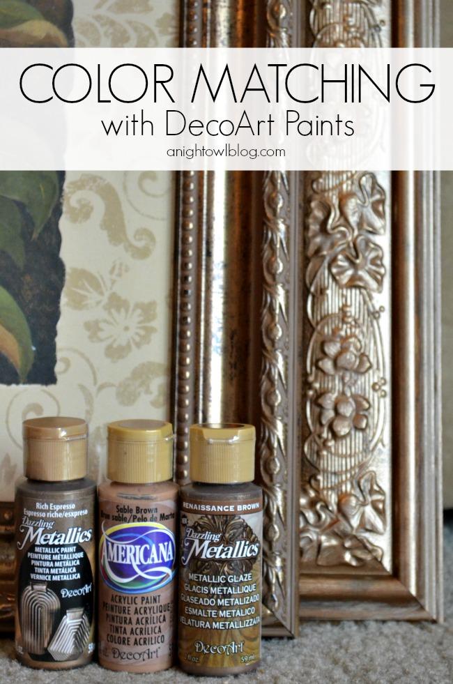 Decoart paint colors paint color ideas for Night owl paint color
