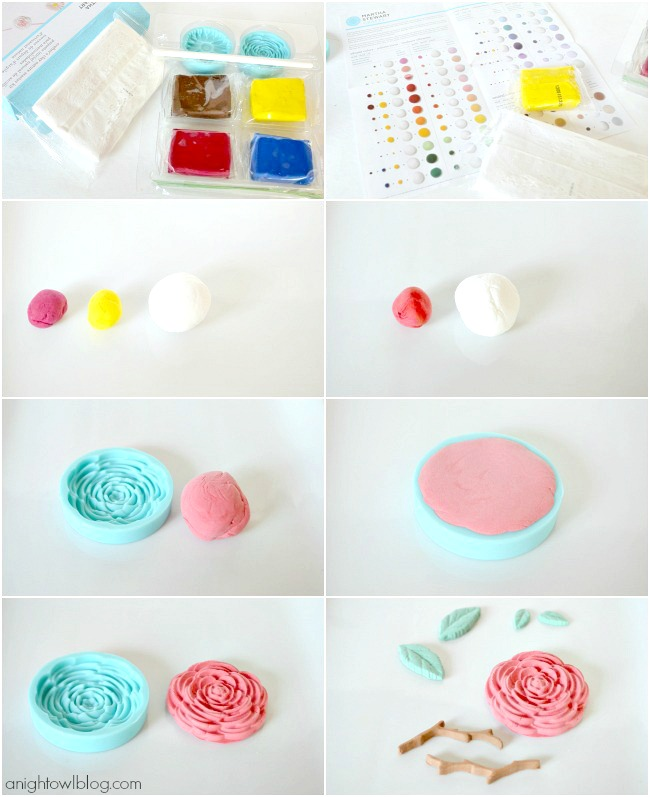 How to use Martha Stewart Crafts Crafter's Clay | #marthastewartcrafts #12monthsofmartha