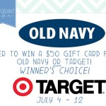 {Giveaway} $50 Gift Card to Old Navy or Target