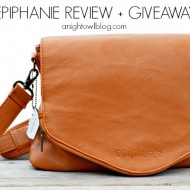 Epiphanie Camera Bag Review + Giveaway