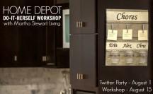 Home Depot Do-It-Herself Workshop #DIHWorkshop
