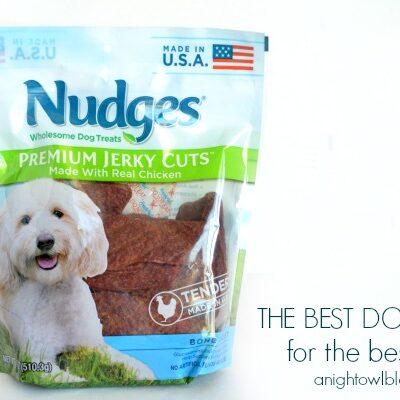 Nudges – The Best Dog Treats for The Best Dogs #NudgesMoments #cbias