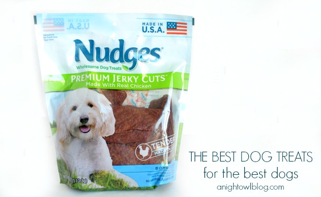 Nudges – The Best Dog Treats for The Best Dogs #NudgesMoments