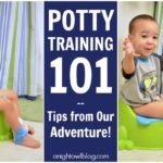 Potty Training 101 – Tips from Our Adventure! #PullUpsPottyBreaks