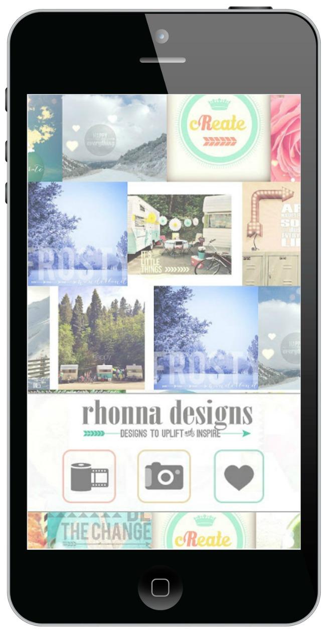 Rhonna Designs App | #rhonnadesigns_app #photoapp #instagram #iphone