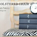 How to Reupholster a Chair with #MichaelsFabrics