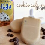 Cookie Cafe Mocha Popsicles