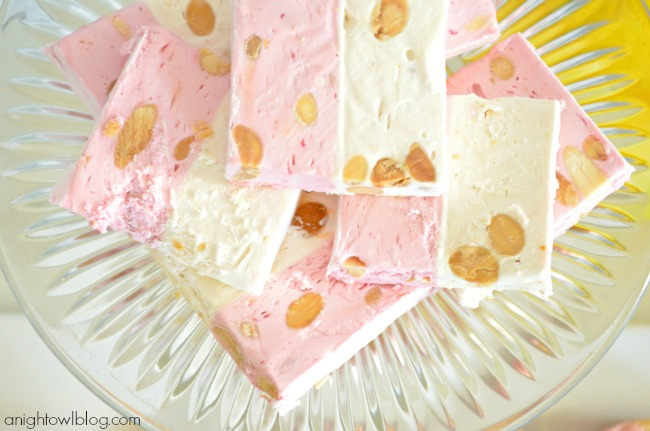 French Nougat Bars from World Market for a Lorina Lemonade Stand Dessert Table | #lorina #lemonade #stand #dessert #party #worldmarket #SummerinParis