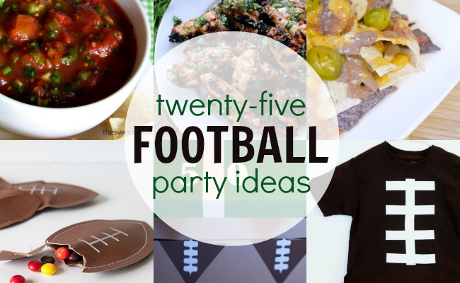 25 Football Party Ideas – Food, Crafts and More!