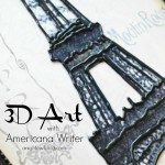 3D Art with Americana Writer