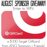August Sponsor $100 Target Gift Card Giveaway