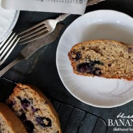 Blueberry Banana Bread Recipe