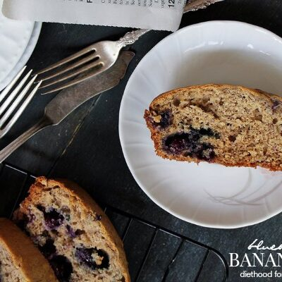 Blueberry Banana Bread | anightowlblog.com