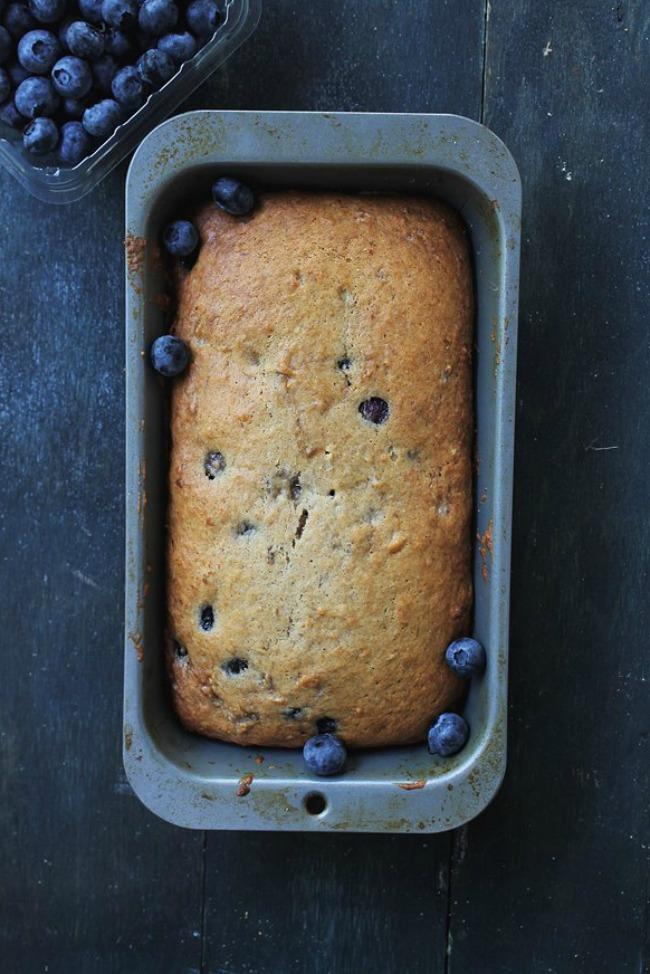 Blueberry Banana Bread Recipe A Night Owl Blog