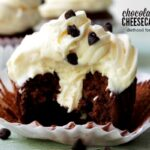 Chocolate Cinnamon Cheesecake Cupcakes | anightowlblog.com