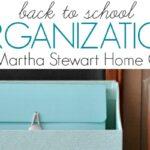 Back to School Organization with Martha Stewart Home Office