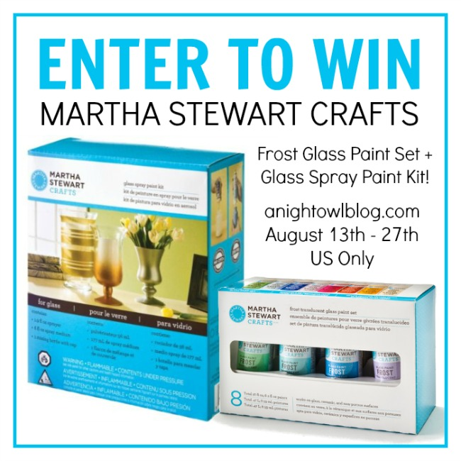 Martha Stewart Crafts Paint Giveaway
