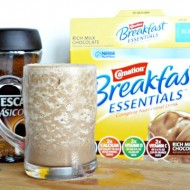 Cafe Mocha Breakfast Smoothie Recipe for Back to School