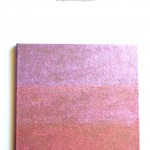 Ombre Glitter Cork Board with Martha Stewart Crafts