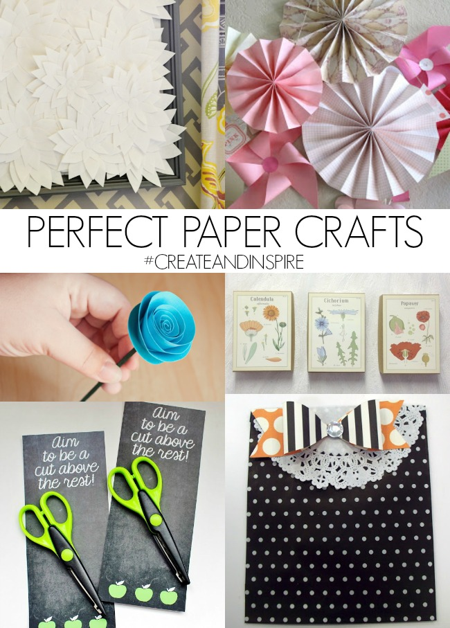 Perfect Paper Crafts >> #CreateandInspire Features