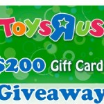 $200 Toys R Us Gift Card Giveaway