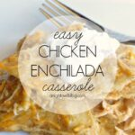 Easy Chicken Enchilada Casserole | #enchilada #casserole #recipes #RecipeMakers