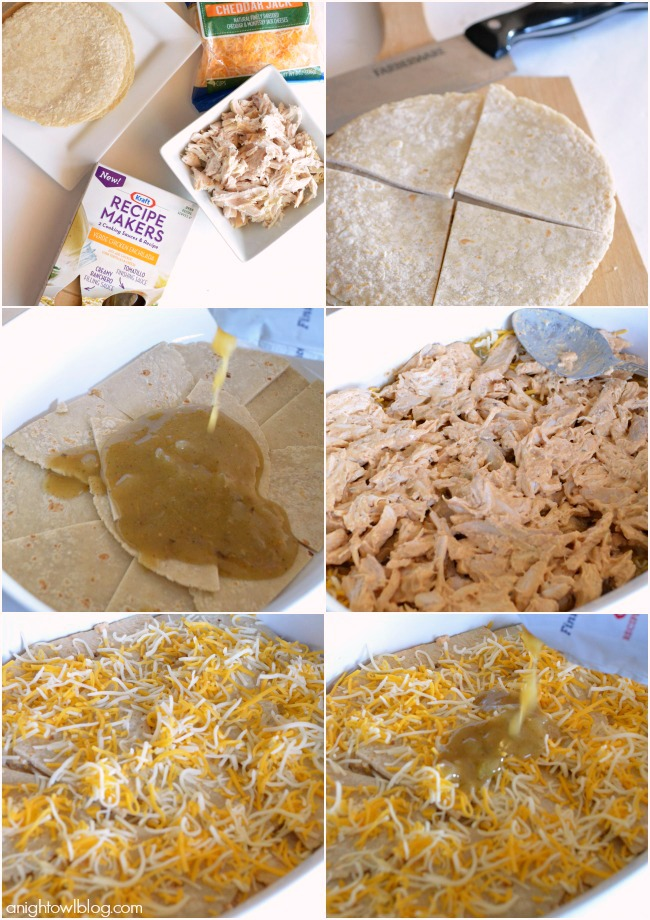 How To Make Easy Chicken Enchilada Casserole Enchilada Casserole Recipes Recipemakers