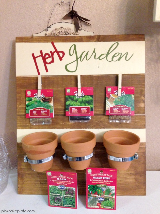 DIY Herb Garden by pinkcakeplate.com | #DIHWorkshop