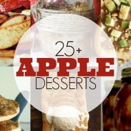 25+ Awesome Apple Desserts – Cookies, Cakes and More!
