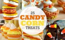 25 Candy Corn Treats | anightowlblog.com