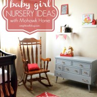 Baby Girl Nursery Ideas with Mohawk Home