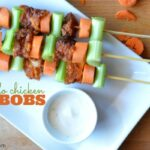 #ad Tyson Buffalo Chicken Kabobs Recipe #MealsTogether