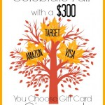 Celebrate Fall Giveaway – $300 Gift Card of Your Choice!