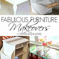 Create & Inspire Party | Fabulous Furniture Makeovers