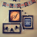 Halloween Gallery Wall with Martha Stewart Crafts