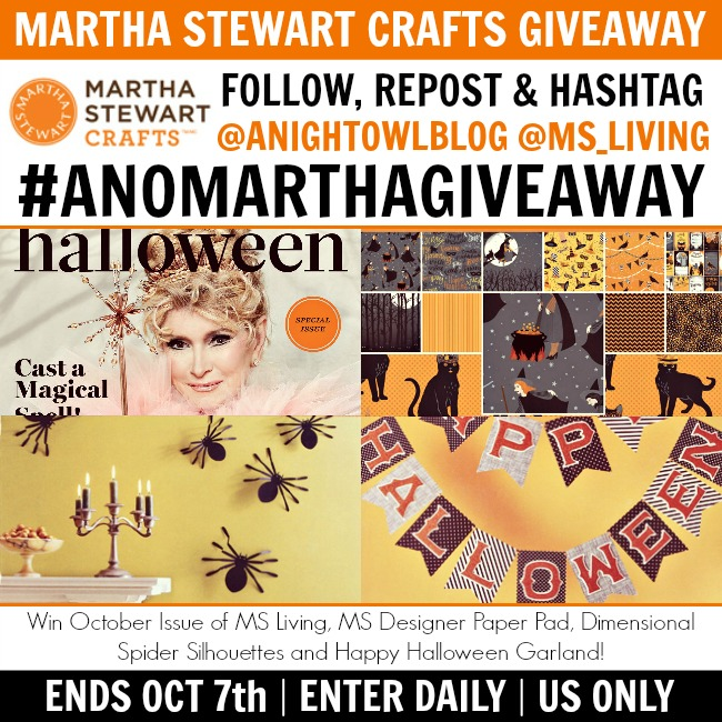 #ANOMARTHAGIVEAWAY Instagram-ONLY Giveaway