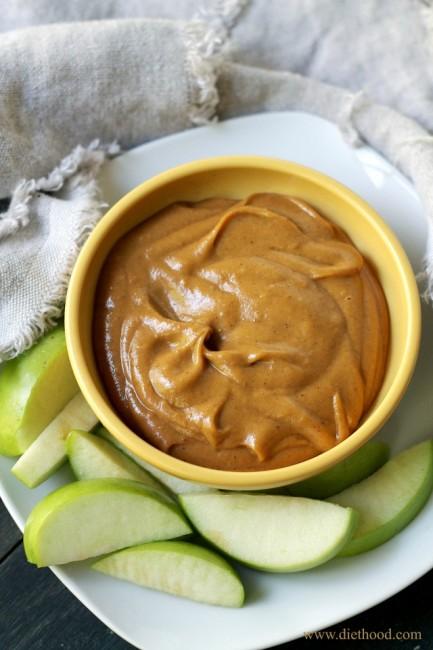 Peanut Butter Pumpkin Dip | anightowlblog.com